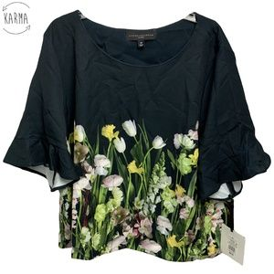Victoria Beckham for Target Floral Top Size 3X A5